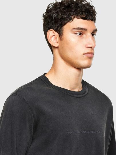 Diesel - T-JUBIND-LS, Nero - T-Shirts - Image 3