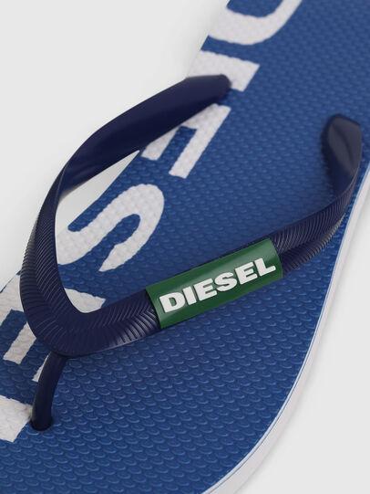 Diesel - SA-BRIIAN, Blu/Bianco - Ciabatte - Image 3
