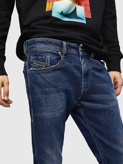 Diesel - Thommer 0870F, Blu medio - Jeans - Image 3