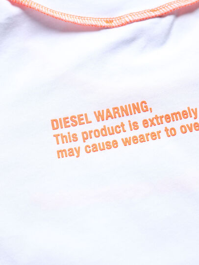 Diesel - TJUSEAM, Bianco - T-shirts e Tops - Image 3