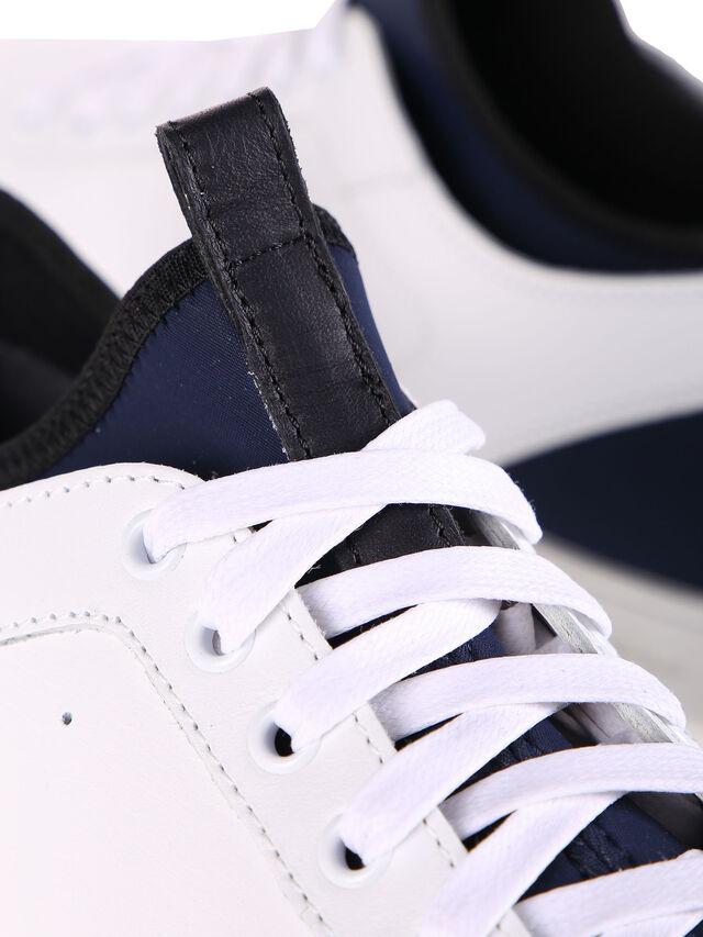 Diesel - S18ZERO, Bianco - Sneakers - Image 7