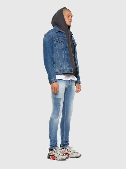 Diesel - Tepphar 009FJ, Blu Chiaro - Jeans - Image 8