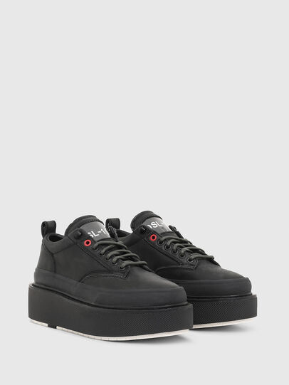 Diesel - H-SCIROCCO LOW LACE, Nero - Sneakers - Image 2