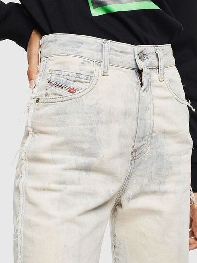Diesel - D-Eiselle 0099P, Bianco - Jeans - Image 5