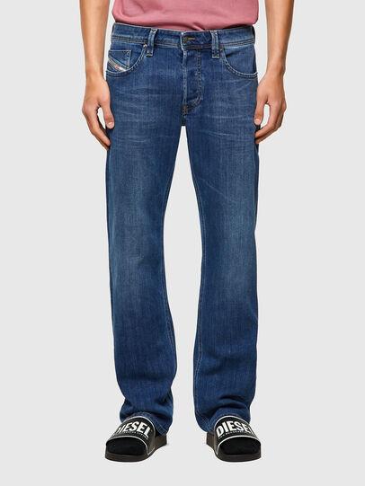 Diesel - Larkee 09A80, Blu medio - Jeans - Image 1