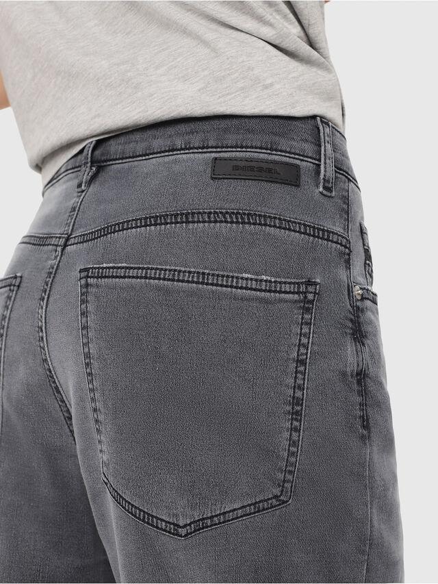 Diesel - Widee JoggJeans 069EH, Nero/Grigio scuro - Jeans - Image 3