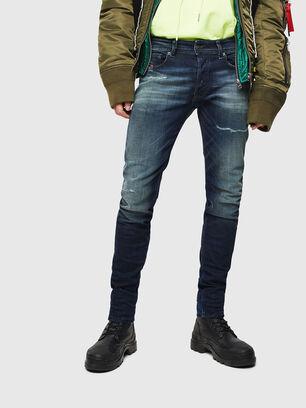 Sleenker 0097P, Blu Scuro - Jeans