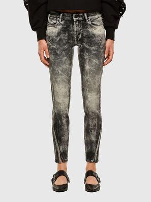 D-Jevel 009FG, Grigio Chiaro - Jeans