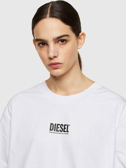 Diesel - D-BOWI-SMALLOGO, Bianco - Vestiti - Image 3