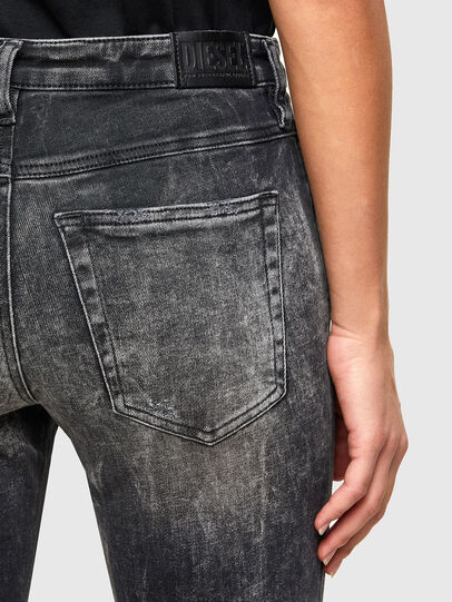 Diesel - Babhila 009PX, Nero/Grigio scuro - Jeans - Image 5