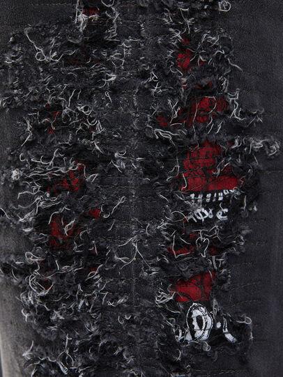 Diesel - Krooley JoggJeans 069RA, Nero/Grigio scuro - Jeans - Image 4