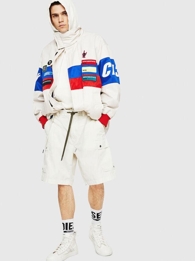 Diesel - P-AIMI-P, Bianco - Shorts - Image 5