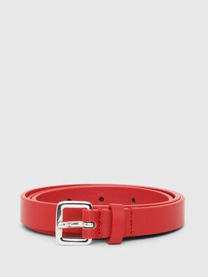 B-LOWGO, Rosso - Cinture