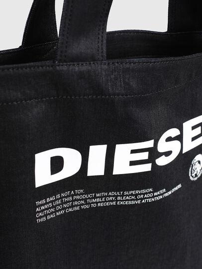 Diesel - D-THISBAG SHOPPER L, Nero - Shopper e Borse a Spalla - Image 5