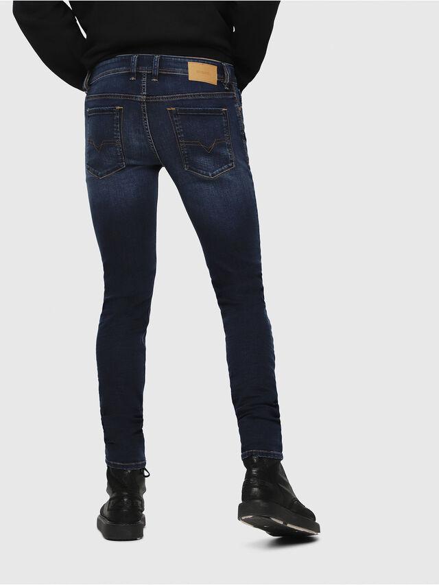 Diesel - Sleenker 084RI, Blu Scuro - Jeans - Image 2