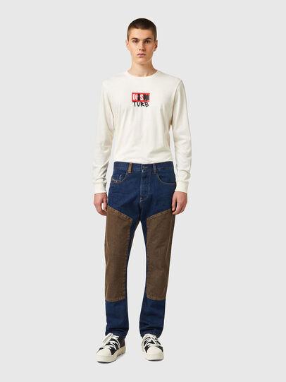 Diesel - D-Viker 0AFAK, Blu Scuro - Jeans - Image 6