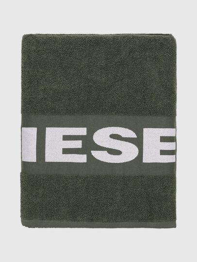 Diesel - TELO SPORT LOGO   10, Verde - Bath - Image 1