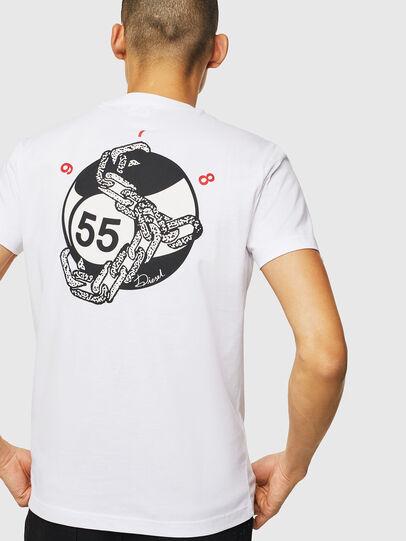 Diesel - T-DIEGO-J16, Bianco - T-Shirts - Image 2