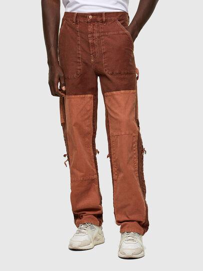 Diesel - D-Franky JoggJeans® 0DDAW, Marrone - Jeans - Image 1