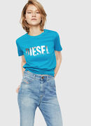 T-SILY-WH, Turchese - T-Shirts