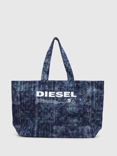 Diesel - D-THISBAG SHOPPER L, Blu Jeans - Shopper e Borse a Spalla - Image 1