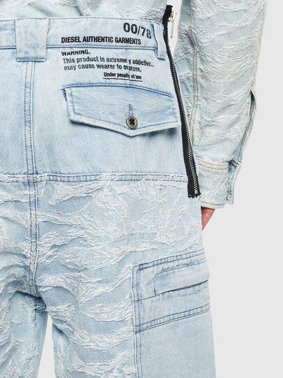 Diesel - D-LUK-SHORT, Blu Chiaro - Shorts - Image 6