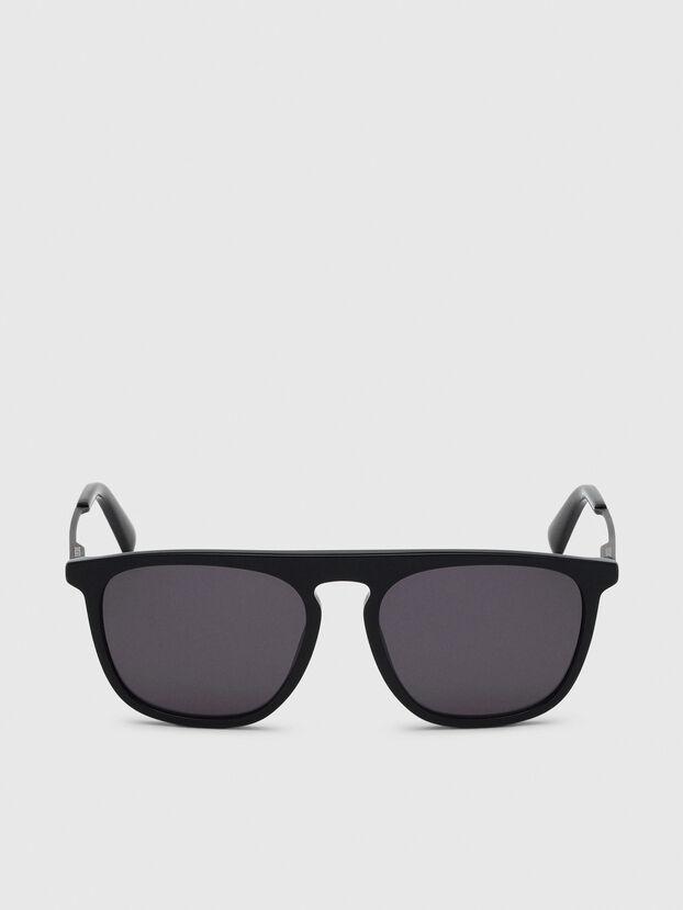 DL0297, Nero/Giallo - Occhiali da sole