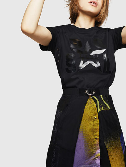 Diesel - T-SILY-WMA, Nero - T-Shirts - Image 4