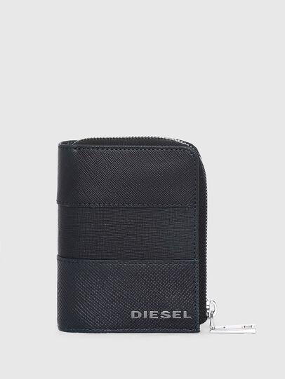 Diesel - L-12 ZIP, Blu - Portafogli Con Zip - Image 1