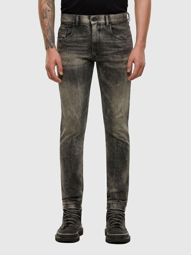 D-Strukt 009EV, Nero/Grigio scuro - Jeans