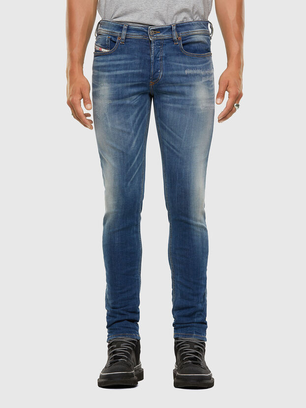 Sleenker 009FC, Blu medio - Jeans