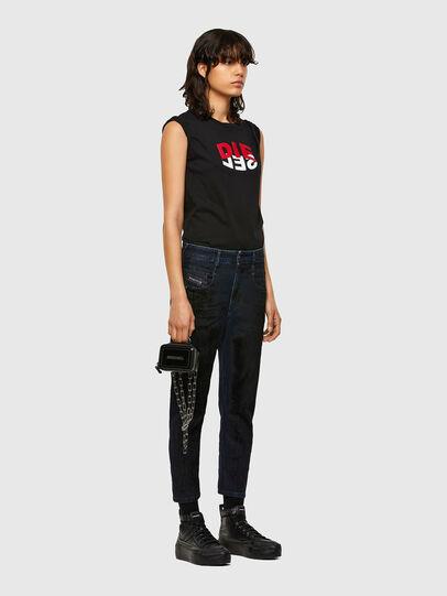 Diesel - Fayza 009QD, Blu Scuro - Jeans - Image 6