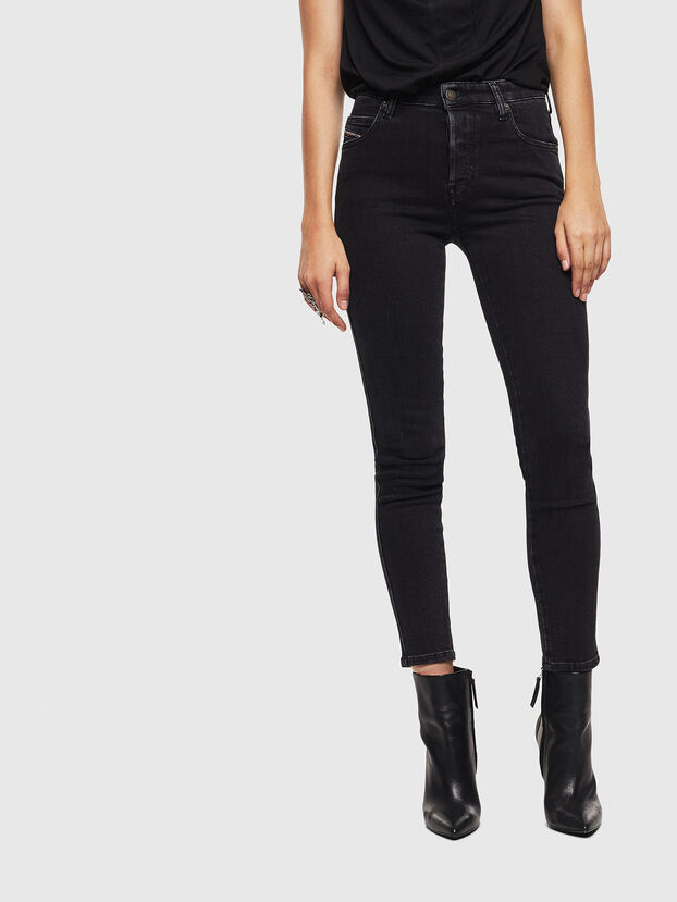 Babhila 0870G, Nero/Grigio scuro - Jeans