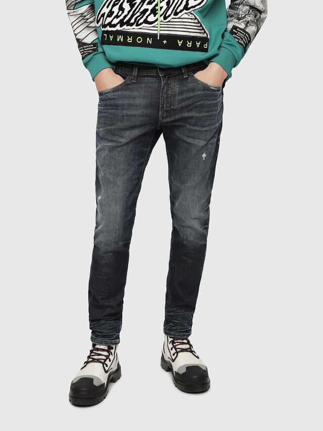 Diesel - Thommer JoggJeans 087AI, Blu Scuro - Jeans - Image 1
