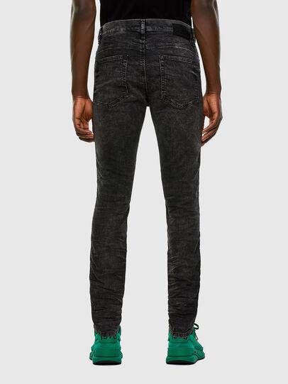 Diesel - D-Reeft JoggJeans 009FZ, Nero/Grigio scuro - Jeans - Image 2