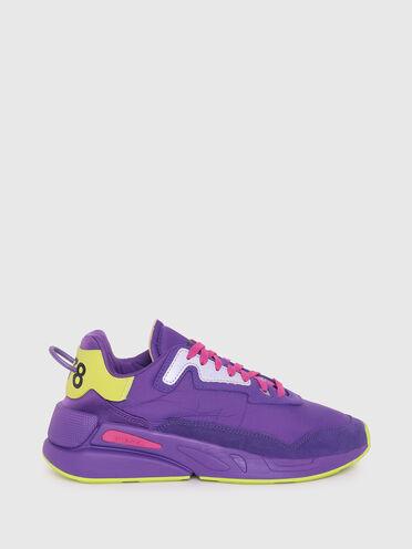 Sneaker in nylon increspato