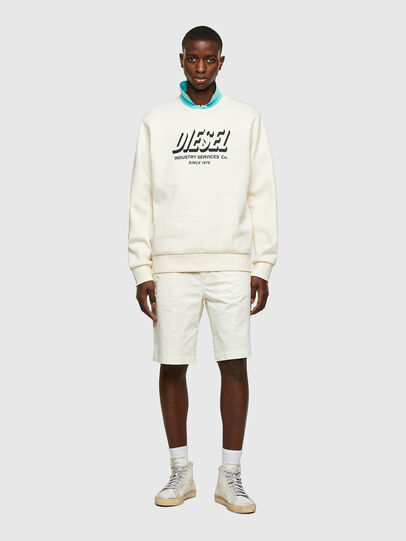 Diesel - P-HATY, Bianco - Shorts - Image 4