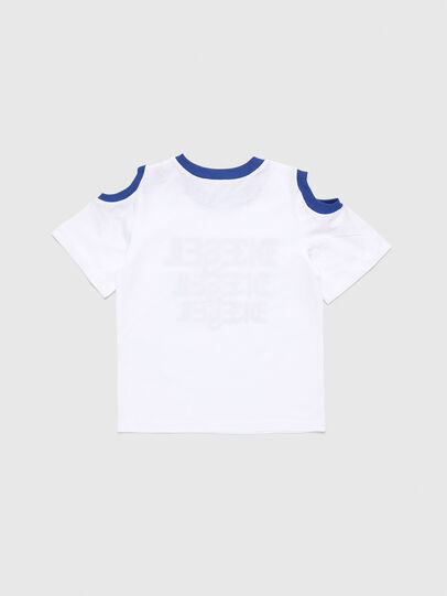 Diesel - TANIURAB, Bianco - T-shirts e Tops - Image 2