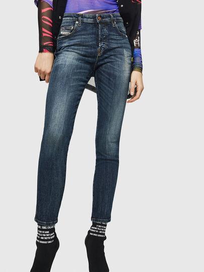 Diesel - Babhila 069GC, Blu Scuro - Jeans - Image 1