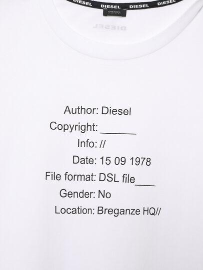 Diesel - UFTEE-ELODIE, Bianco - T-Shirts - Image 3