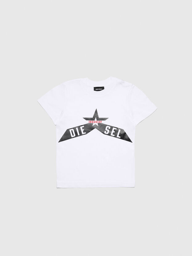 TDIEGOA7B-R, Bianco - T-shirts e Tops