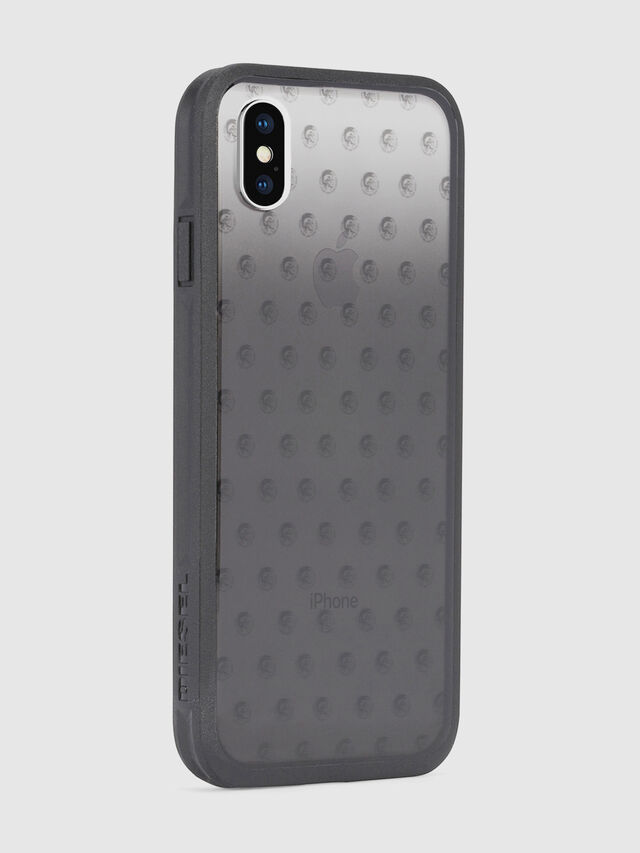 Diesel - MOHICAN HEAD DOTS BLACK IPHONE X CASE, Nero/Grigio - Cover - Image 5
