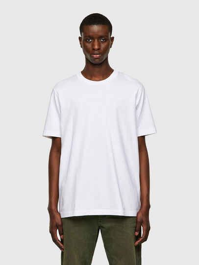 Diesel - T-JUSPOCK, Bianco - T-Shirts - Image 1