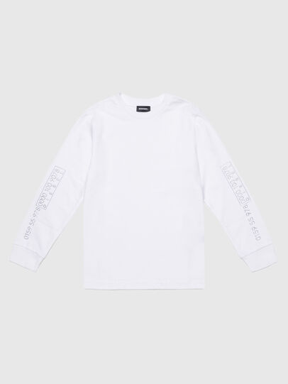 Diesel - TVARYS, Bianco - T-shirts e Tops - Image 1