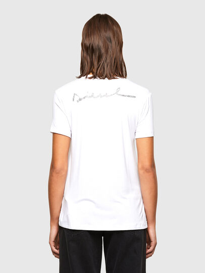 Diesel - T-SILY-R1, Bianco - T-Shirts - Image 2