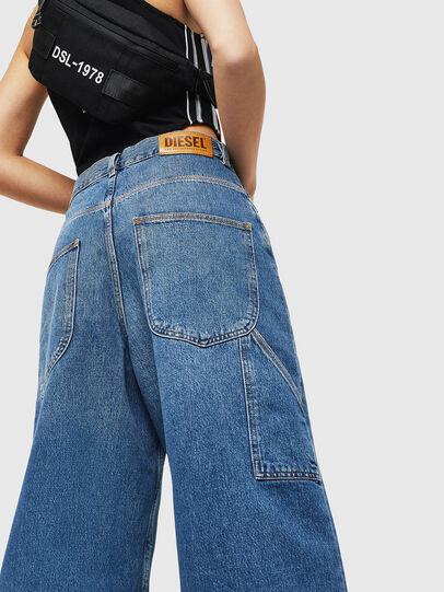 Diesel - D-Luite 080AN, Blu medio - Jeans - Image 3