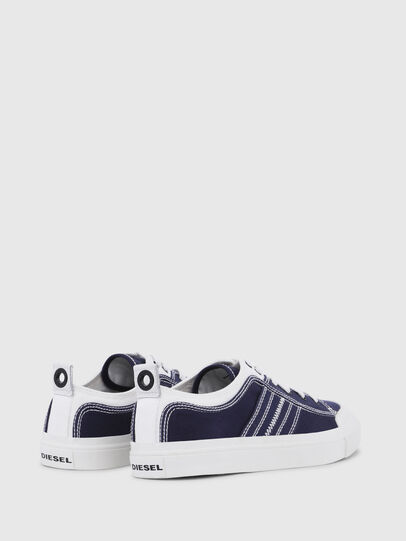 Diesel - S-ASTICO LOW LACE, Blu/Bianco - Sneakers - Image 3