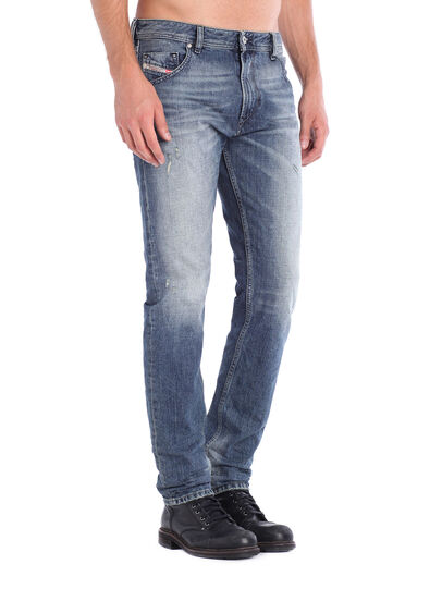 Diesel - Krayver 0833S, Blu Jeans - Jeans - Image 2