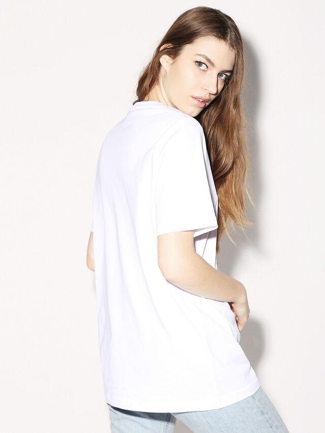 Diesel - DEIS-JUST, Bianco - T-Shirts - Image 7