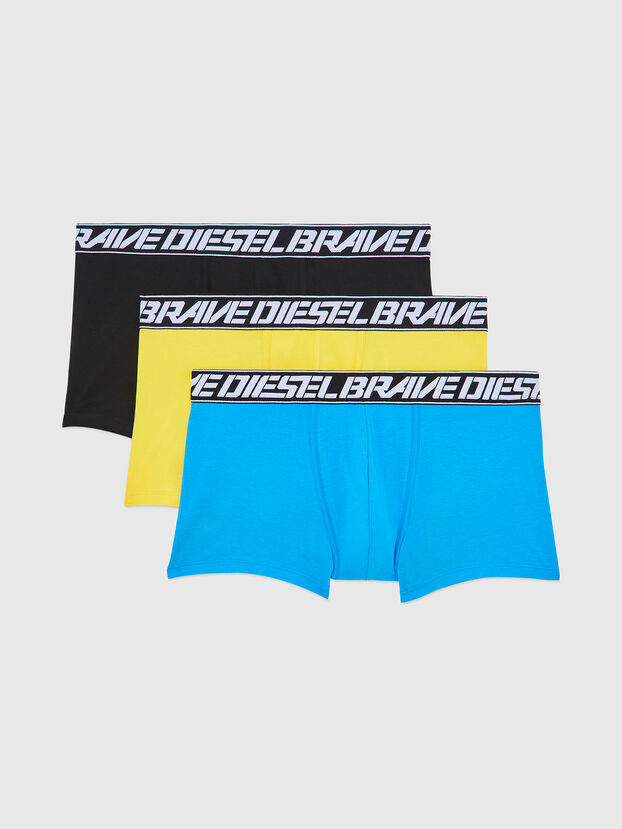 UMBX-DAMIENTHREEPACK, Blu/Giallo - Boxer stretch